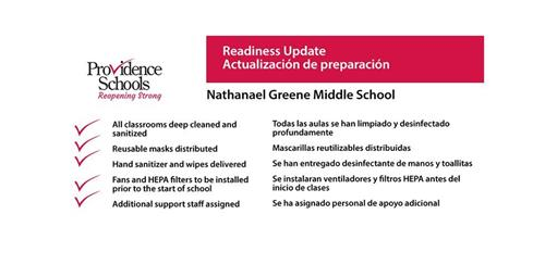 Readiness Update