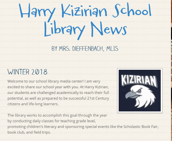 NEW!! Library News